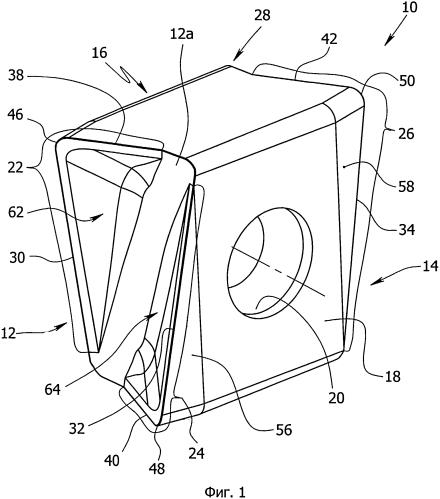Режущий инструмент и режущая пластина (варианты)