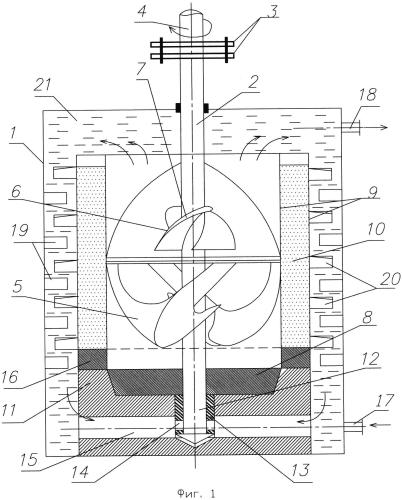 Ветровой аккумулятор тепла