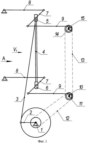 Лесопильная рама с эксцентриковым механизмом качания пильной рамки