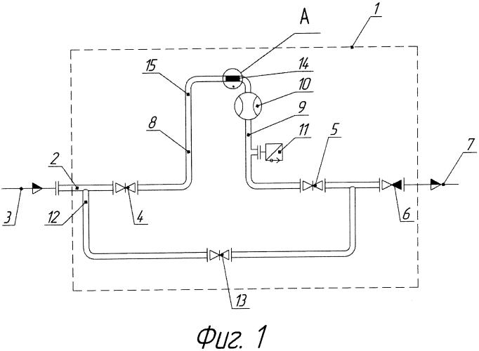 Установка для измерения дебита нефтяных и газовых скважин (варианты)