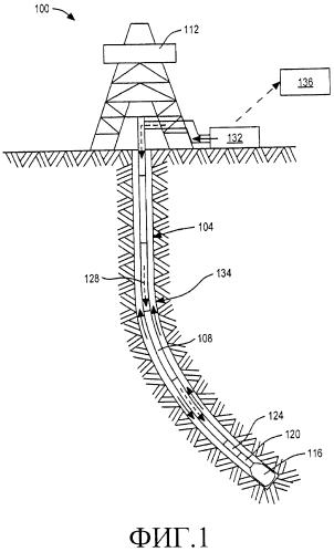 Устройство и способ получения импульсов передачи данных в бурильной колонне