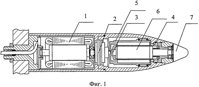Двигательно-движительная установка подводного аппарата