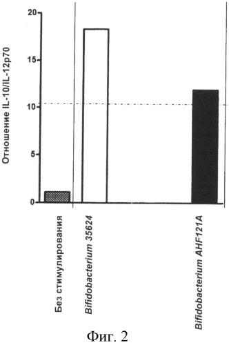 Штамм bifidobacterium longum, пригодный для применения в иммуномодуляции, индукции продукции цитокинов, лечении аутоиммунного заболевания, контроле отношения il - 10:il - 12, и его использование