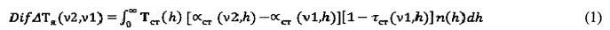 Дифференциальный способ определения вертикального профиля концентрации газов в атмосфере