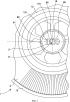 Узел пружинного барабана часового механизма с сердечником уменьшенного диаметра