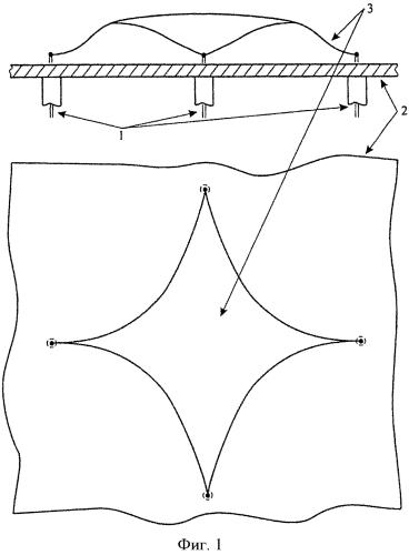 Широкополосная двухполяризационная антенна