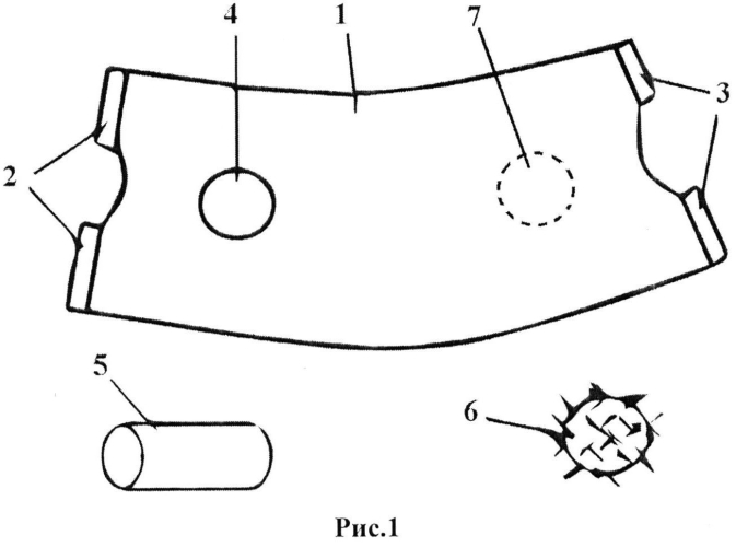 Повязка-стимулятор для развития произвольных движений кистей и пальцев рук у детей
