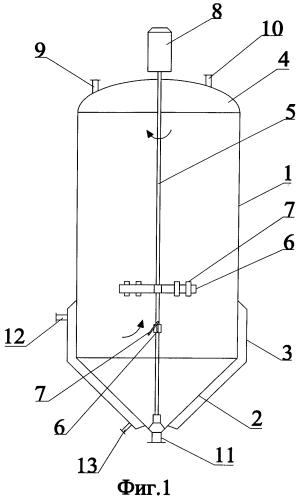 Аппарат для адсорбционной очистки растительных масел