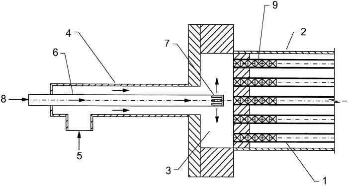 Устройство для смешивания и охлаждения двух реакционноспособных жидкостей и способ производства пероксомоносерной кислоты с помощью этого устройства