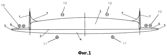 Летательный аппарат схемы летающее крыло