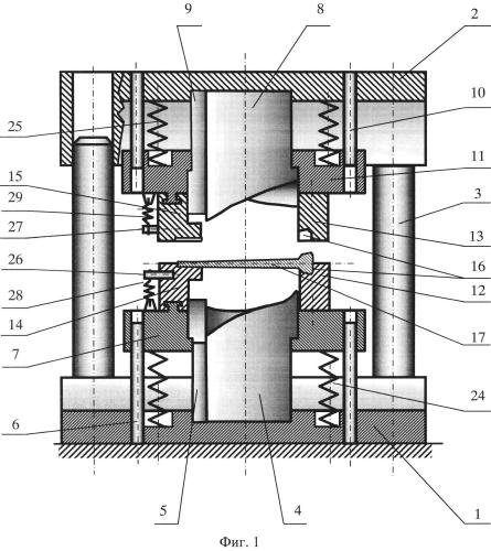Устройство для закрутки пера лопатки газотурбинного двигателя