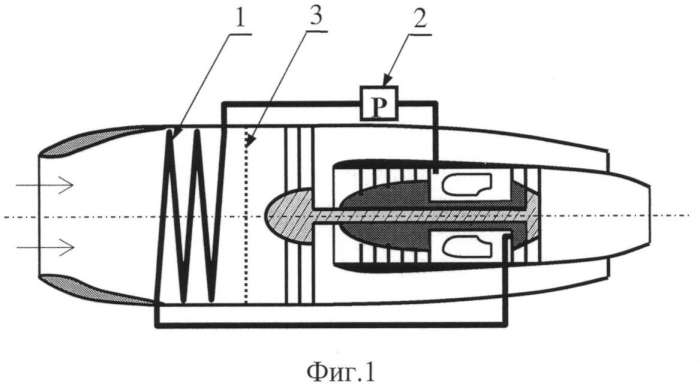 Противообледенительная система газотурбинного двигателя