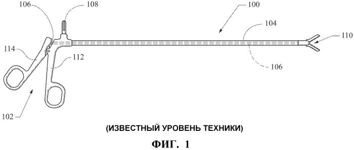 Хирургическое устройство с многократно используемой рукояткой