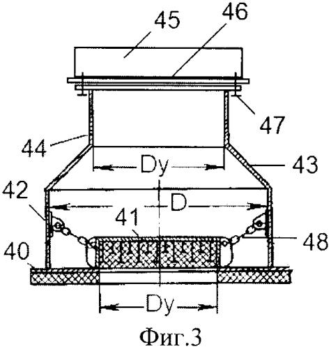 Взрывозащитное устройство с разрывной мембраной для систем безопасной заправки судов сжиженным газом