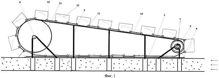 Гидроэлектростанция конвейерного типа