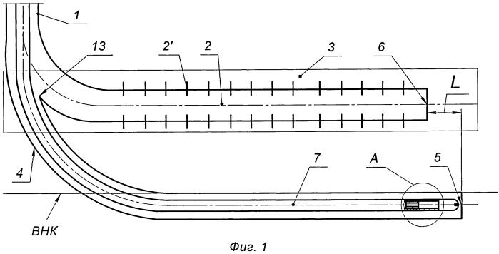 Способ эксплуатации горизонтальной скважины