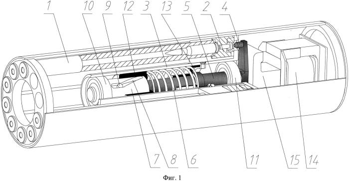 Многоствольный стрельбовой модуль