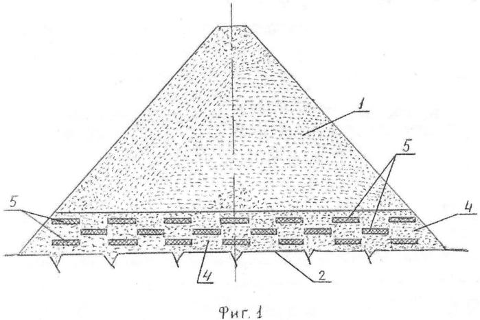 Сейсмостойкая грунтовая плотина, возводимая в узких створах