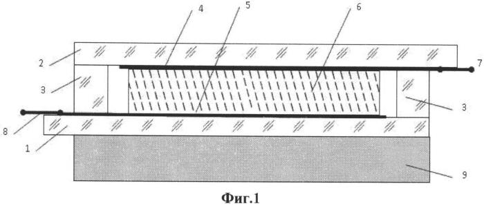 Эмиссионный источник света (вакуумный светодиод) и способ его изготовления