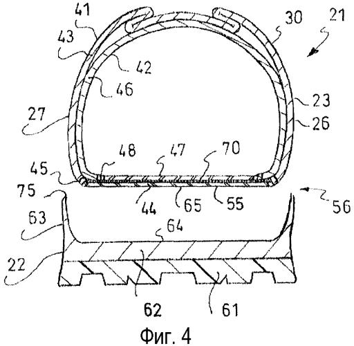 Ботинок с усовершенствованным креплением подошвы и способ его изготовления