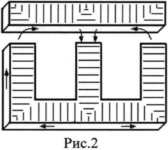 Способ обработки шихтованного магнитопровода броневого трансформатора