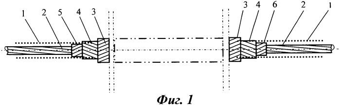 Спиральный соединительный зажим для проводов с композитным сердечником