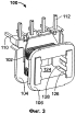 Каркас катушки для установки на магнитный сердечник, магнитный сердечник для реактивных преобразователей и способ производства