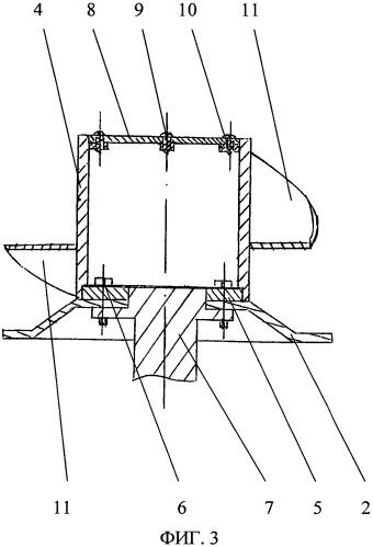 Ротационная косилка с устройством для интенсификации провяливания трав