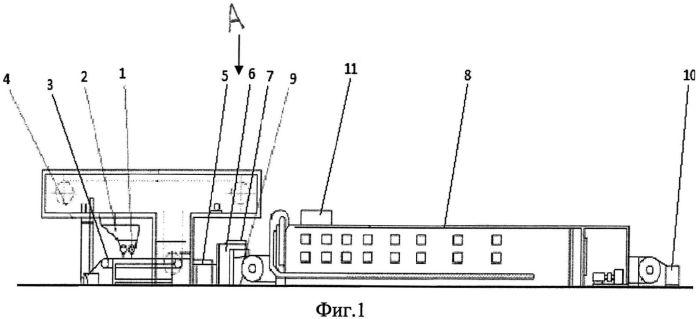 Автоматизированная линия для производства сухарных изделий