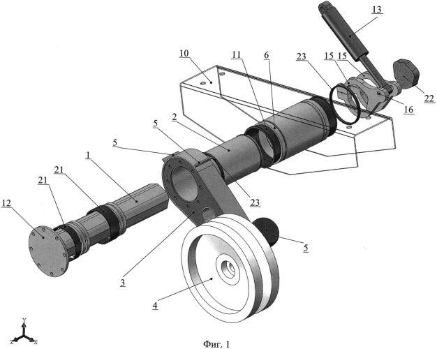 Торсионная подвеска колес транспортного средства