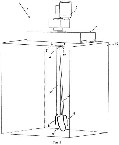 Перемешивающее устройство и способ перемешивания