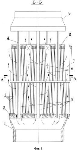 Тепловыделяющая сборка стержневых твэлов (варианты) и способ ее работы
