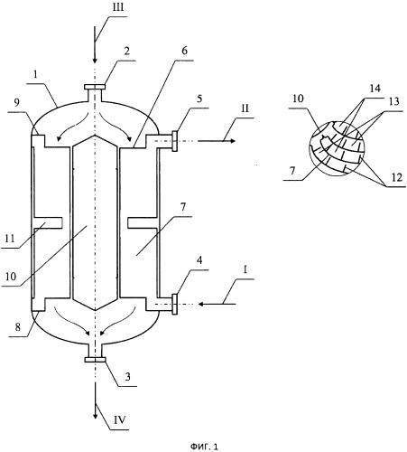 Радиально-спиральный теплообменник