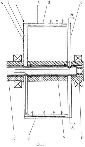 Энергоустановка с управляемым вектором тяги