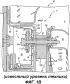 Конструкция монтажа направляющих лопаток сопла входного канала радиальной газовой турбины двигателя