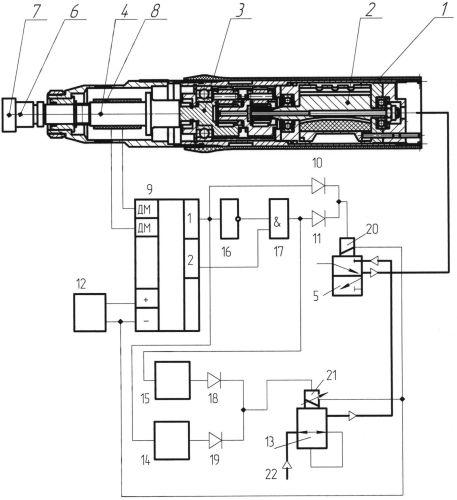 Способ управления затяжкой резьбового соединения с использованием пневматического гайковерта