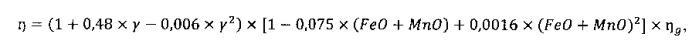 Способ определения полноты истечения расплава при доменной плавке