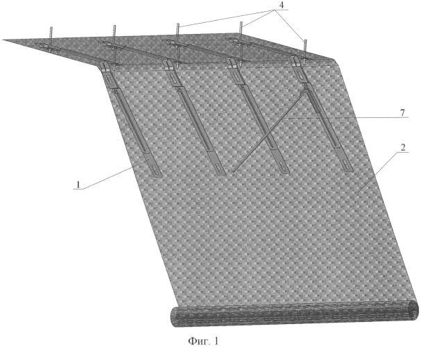 Способ установки сетки при креплении горной выработки и устройство для его осуществления