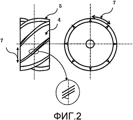 Мат с произвольной ориентацией волокон и формованный продукт из армированного волокном композитного материала
