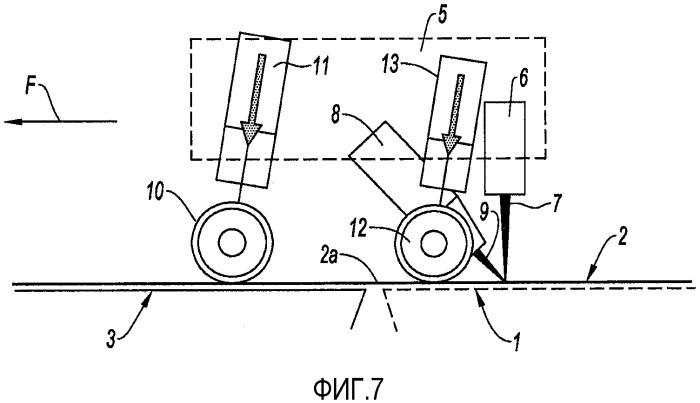 Лазерное сварочное устройство и использование этого устройства для сварки крыши из листового металла или опорного элемента для стеклянной крыши на стороне пассажирского отделения автомобиля