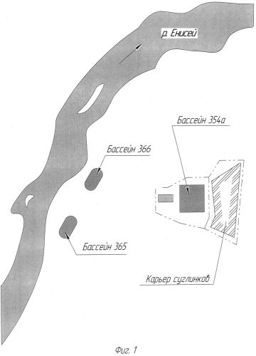 Способ вывода из эксплуатации бассейнов с радиоактивными донными отложениями