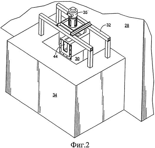Переливная вихревая транспортирующая установка