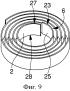 Узел пружинного барабана часового механизма уменьшенного диаметра