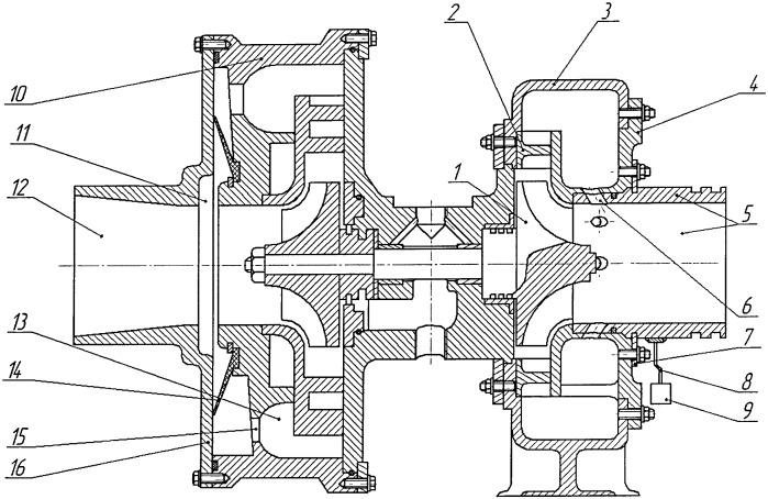 Турбокомпрессор для наддува двигателей внутреннего сгорания