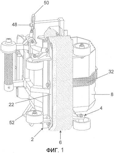 Портативная затирочно-чистящая машина для облицованных поверхностей