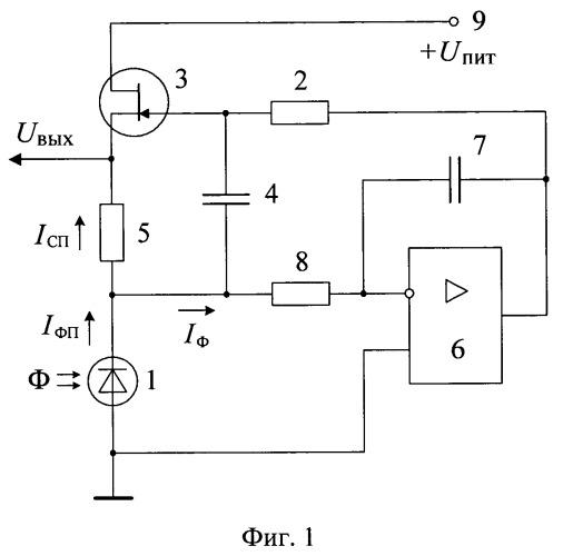 Фотодатчик переменного оптического излучения