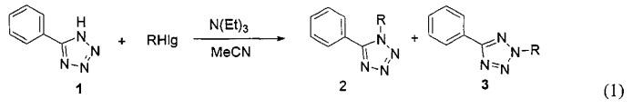 Способ получения n-замещенных-5-фенилтетразолов и микрореактор для его реализации