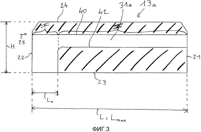Снабженный канавками анод электролизера