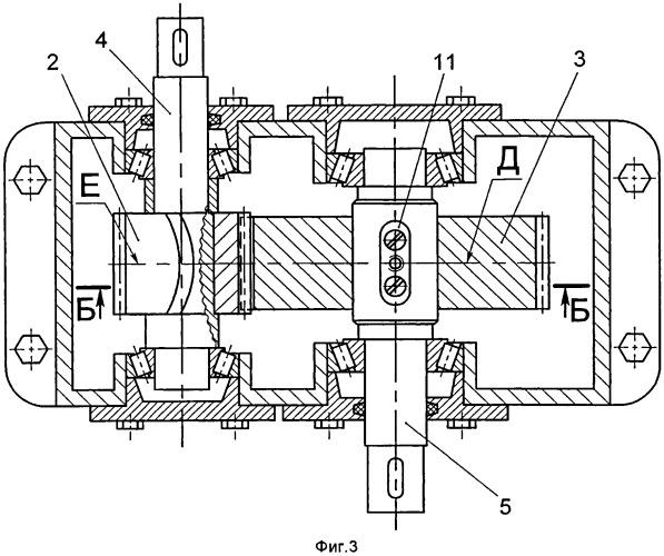 Редуктор с арочной цилиндрической зубчатой передачей (варианты)