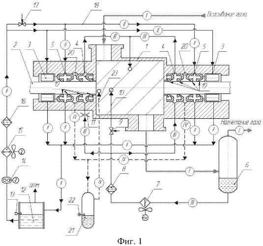 Винтовая маслозаполненная компрессорная установка (варианты) и система смазки подшипников винтовой маслозаполненной компрессорной установки